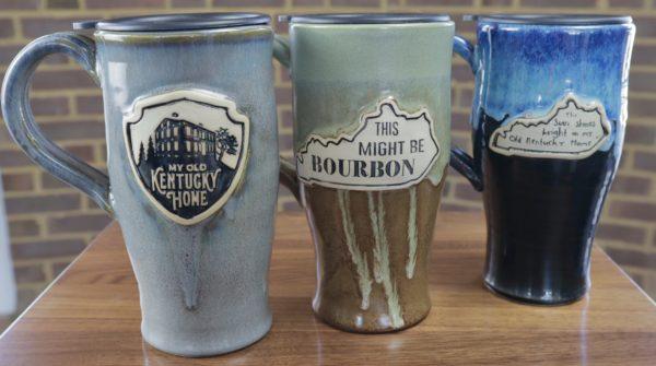 Travel Mugs handmade by Pawley Studios
